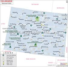 Colorado national parks images Colorado national parks map jpg