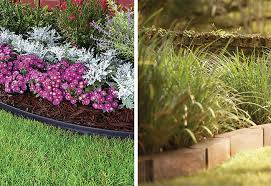 types of edging for your yard at the home depot