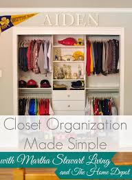 wardrobe organization closet organization made simple by martha stewart living at the