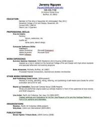 resume template simple format free download in ms word