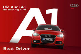 audi advertisement audi a1 beat driver iphone game