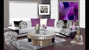 nice animal print living room decor purple and animal print living