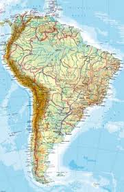 south america map atlas maps south america physical map diercke international atlas