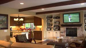 traditional kitchen design wooden interiors ceramic floor white