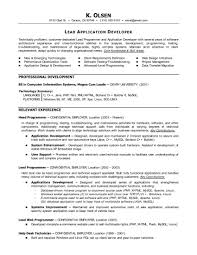 Resume Sample University Application by Analyst Programmer Resume Samples Senior Programmer Resume