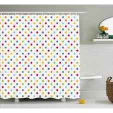 polka dot shower curtains you u0027ll love wayfair