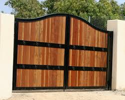 Gate Solid Wood Gates Build A Wooden Fence Gate Wooden Gate - Backyard gate designs