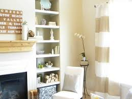 Modern White Living Room Designs 2015 Living Room Unique White Wooden Crafts Open Shelves Cabinets And