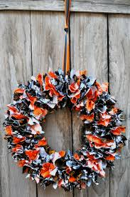 diy fabric halloween wreath tutorial simple sojourns