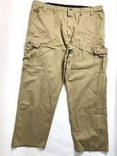 wrangler cargo 30 inseam pants for men ebay