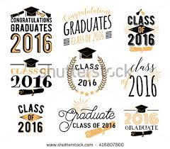 class of 2016 graduation graduation badges free vector stock graphics images