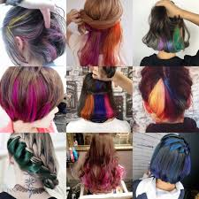 Colors To Dye Brown Hair Assorted Diy Temporary Hair Color Dye U2013 Watzurpassion