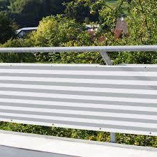 sichtschutz balkon grau balkon verkleidung balkon umspannung sichtschutz windschutz