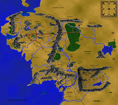 Map Middle Earth Gondolin