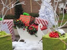 christmas bows for presents winter christmas festival white tree bows nature beautiful