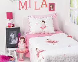 Ballerina Crib Bedding Set Ballerina Bedding Etsy