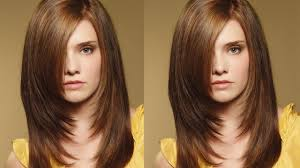 cut your hair in one step layers at home easily video dailymotion