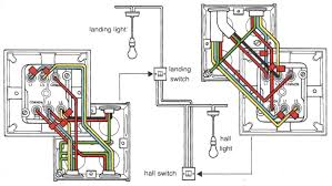 double light switch wiring 3 way switching from junction box to how wire a light with two