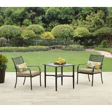 Better Homes And Gardens Wicker Patio Furniture - better homes and gardens wellington hills 3 piece bistro set