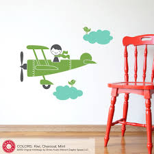 boy wall decals etsy color the walls of your house boy wall decals etsy kids airplane boy wall decal baby nursery travel theme