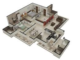 Architectural Floor Plan by 3d Architectural Floor Plans Arch Student Com