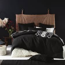 pitch black duvet cover set simons maisonsimons globetrotter