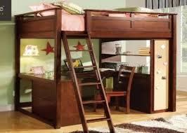 Full Loft Bed With Desk Underneath Dena Decor - Full bunk bed with desk underneath