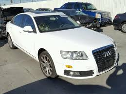audi a6 2009 for sale wauch74fx9n029418 2009 white audi a6 on sale in ca sun valley