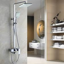 Online Get Cheap German Faucet Aliexpress Com Alibaba Group 3 Function Shower Faucets Bathroom Faucet Set Chrome Finish Brass