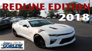 2018 chevrolet camaro 2ss redline edition in depth review