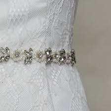 Wedding Dress Sashes Topqueen S101 Rhinestones Pearls Wedding Belts Wedding Sashes
