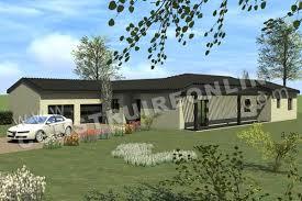 plan de maison en v plain pied 4 chambres plans de maisons de plein pied nos derniers modèles en ligne
