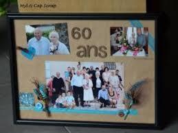 cadeau 60 ans de mariage caps cadeau de noel cadre photos 60 ans par myletcapscrap
