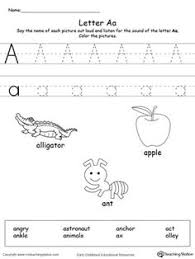 alphabet letter hunt letter a worksheet alphabet letters fun