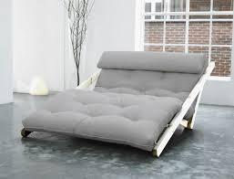 canapé convertible méridienne chaise longue très design en pin