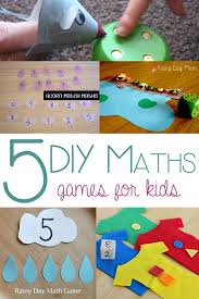 5 simple diy math games for you to make at home to support your