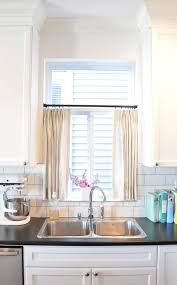 Kitchen Curtains Qualities Of A Kitchen Window Curtains Drape