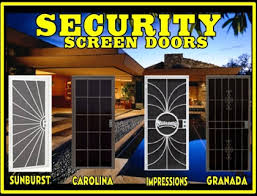Screen Door Patio Sun Security Products By Day Screens Security