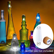 cork shaped rechargeable bottle light best usb power wine bottle light rechargeable cork shape