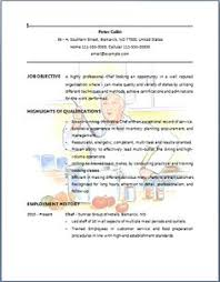 professional resume example bartender resume template no