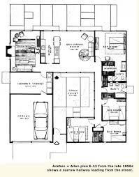 Eichler Floor Plan The Mystery Of The Eichler Atrium Page 3 Eichler Network