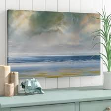 nautical painting nautical beach wall art you ll love wayfair