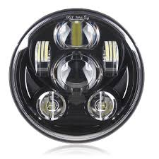 amazon com motorcycle 5 3 4 5 75 daymaker led headlight for