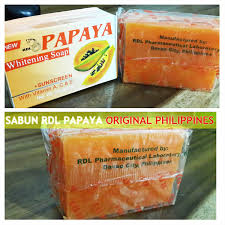 Sabun Rdl sabun pepaya rdl asli murah efektif memutihkan kulit