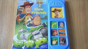 toy story 3 friends play sound book
