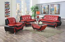 leather modern sofa sets ebay