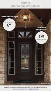 Hang Exterior Door 8 Tips On How To Choose The Best Outdoor Lighting Front Door