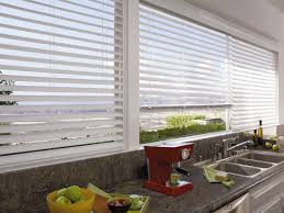 Wood Grain Blinds Aluminium Venetian Blinds Enhance Your Kitchen Space With These