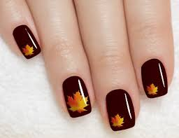 όλα τα χρώματα και σχέδια για τέλεια φθινοπωρινά νύχια nails