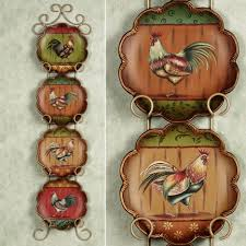italian kitchen canisters metal rooster wall decor gallery home wall decoration ideas
